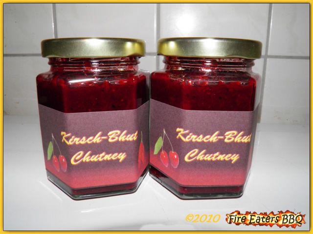 Kirsch-Bhut-Chutney aus unserer Versuchsküche