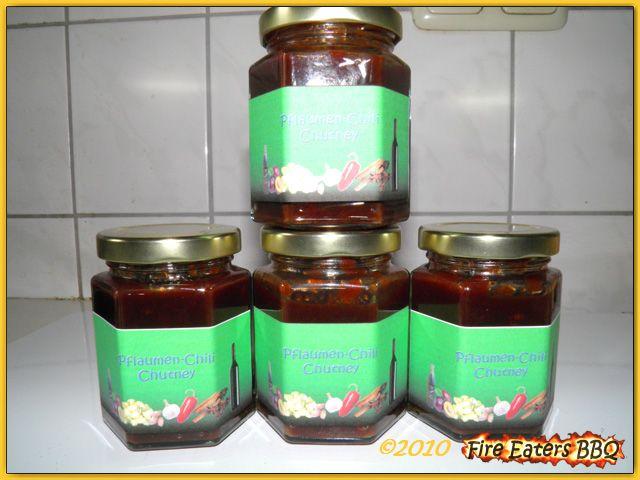 Pflaumen-Chili-Chutney