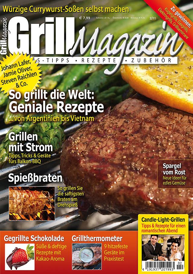 Das Grill-Magazin 2/2011 ab dem 25.05.2011 erhältlich