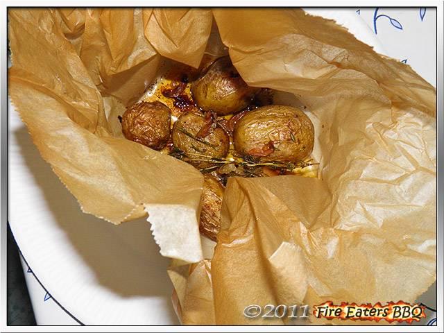 Bild - Blick in ein fertiges Kartoffelsäckchen